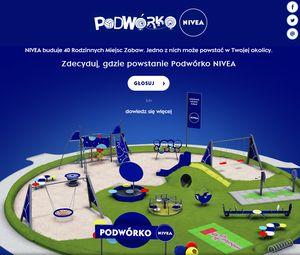 Podwórko NIVEA - zagłosuj na PSP nr 1